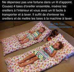 Vous cherchez un lit d'appoint facile à transporter pour vos enfants ? En voici...
