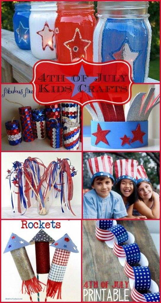 4th of July Kids Crafts!! Great Ideas on Design Dazzle!