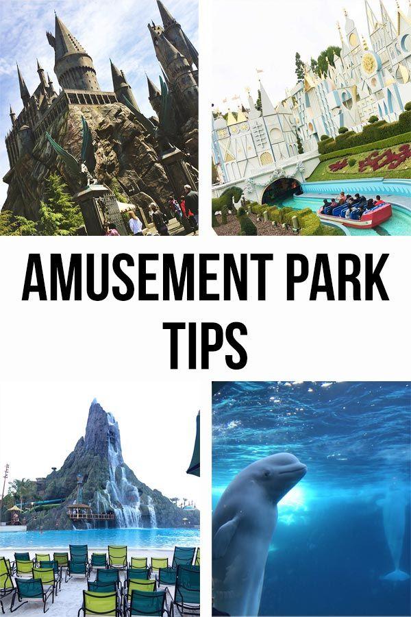Amusement Park Tips | The best tips and tricks for your favorite amusement parks...
