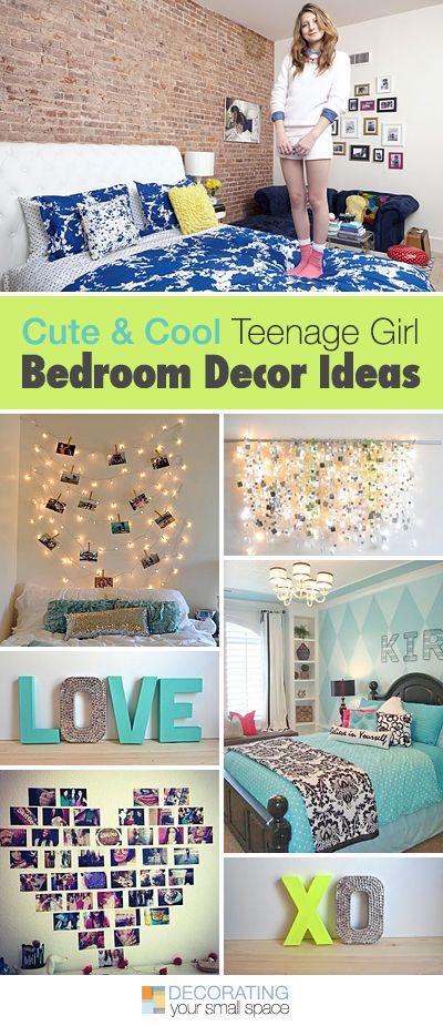 Cute and Cool Teenage Girl Bedroom Ideas • Tips, Ideas & Tutorials! • Teen g...