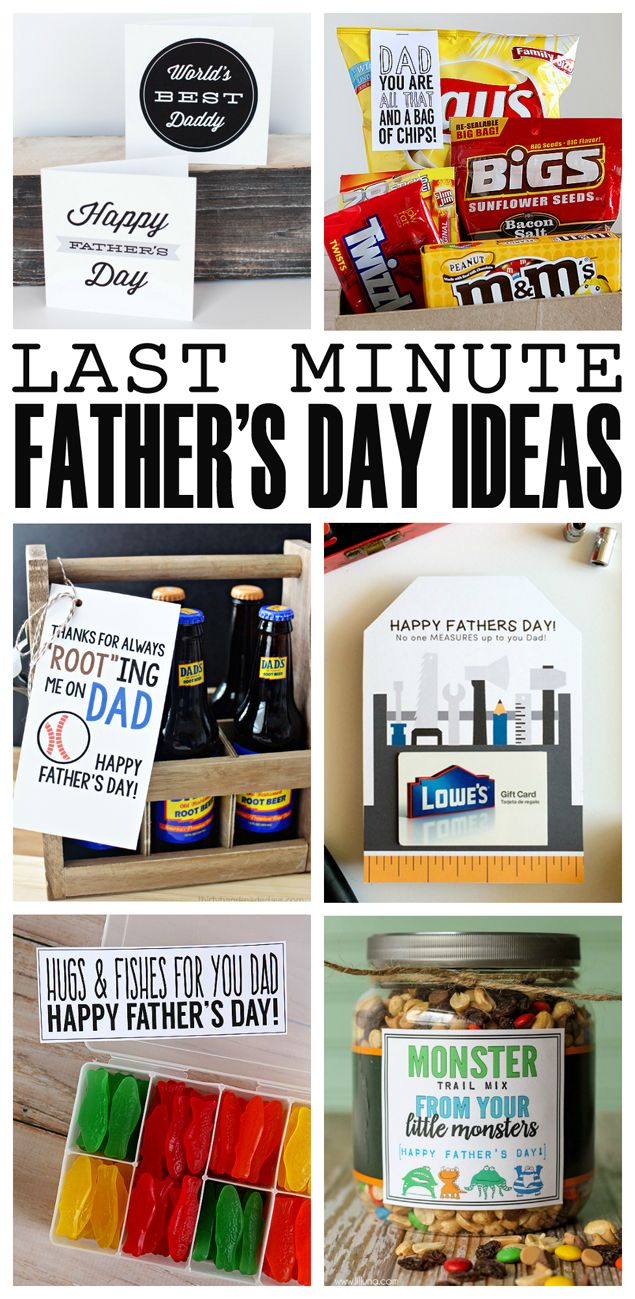 Fun Last Minute Father's Day Ideas | #fathersday #fathersdayideas #fathersdaygif...