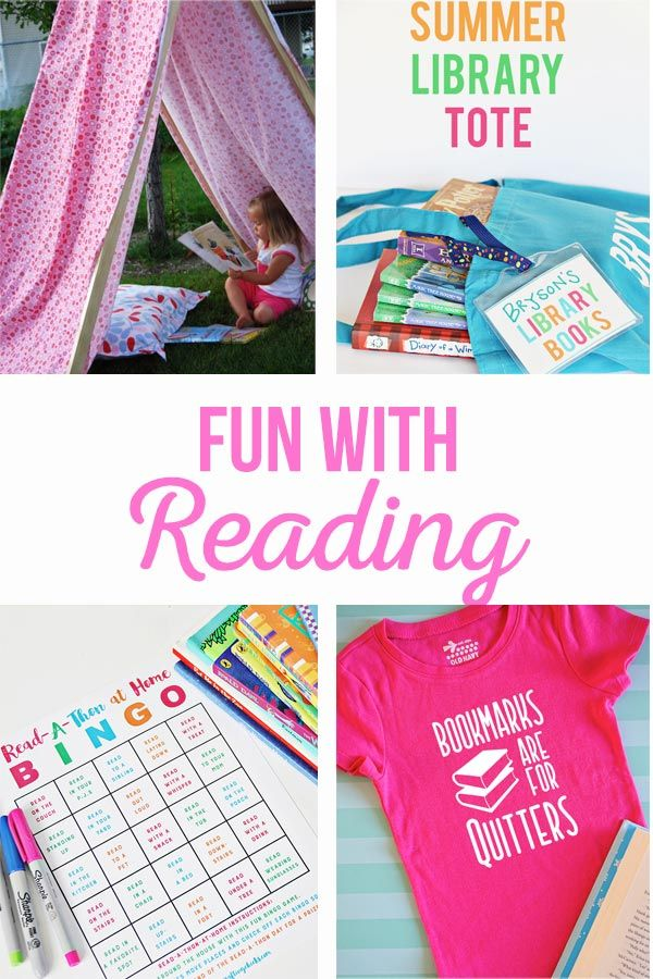 Fun with Reading | Activities to keep your kids excited about reading this summe...