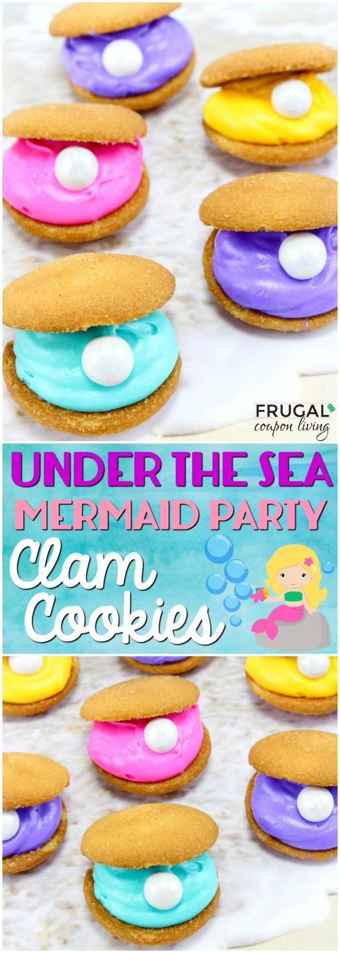 Hosting a mermaid party? How about something under the sea? We love these easy t...