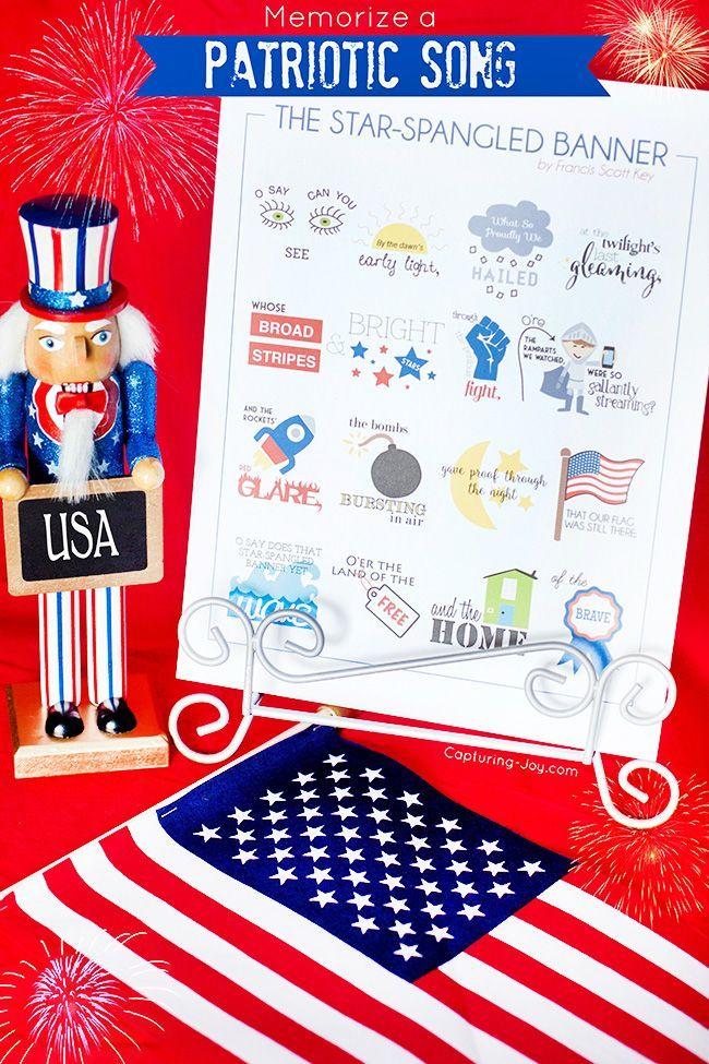If you want to Help Kids Memorize the Star-Spangled Banner, then I've got ju...