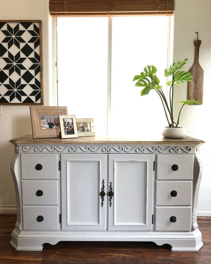 Kicked-to-the-Curb Buffet Makeover for Under $5