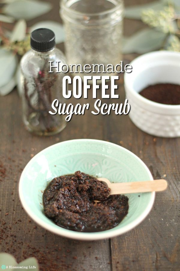 DIY Coffee Scrub recipe for face and body is an easy and effective natural exfol...
