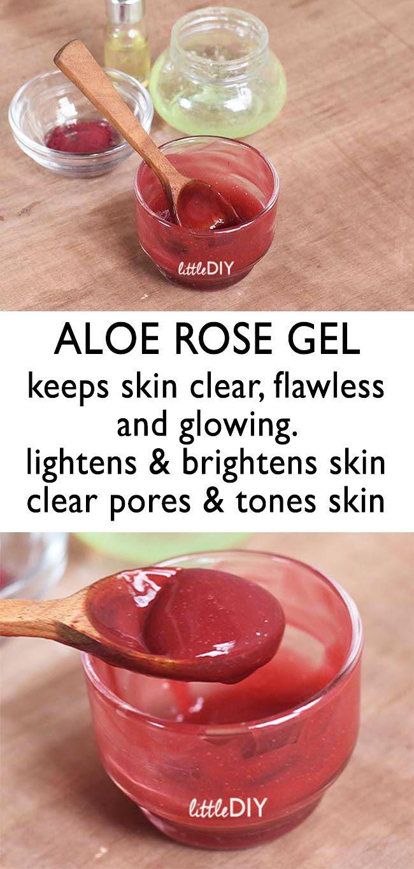 ALOE ROSE SKIN SOOTHING GEL – Little DIY