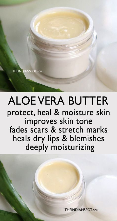 ALOE VERA BUTTER RECIPE - THE INDIAN SPOT