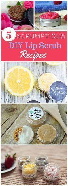 Give your lips some much needed love with a Scrumptious DIY Lip Scrub Recipe. Ho...
