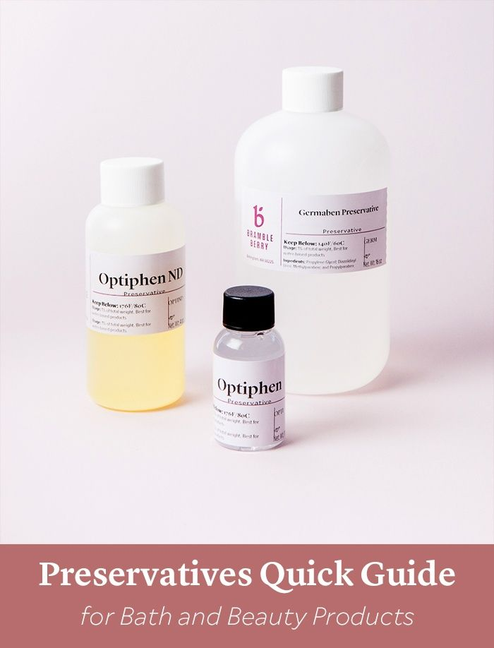 Preservatives Quick Guide