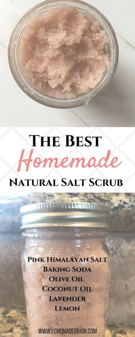 The Best Salt Scrub: All Natural
