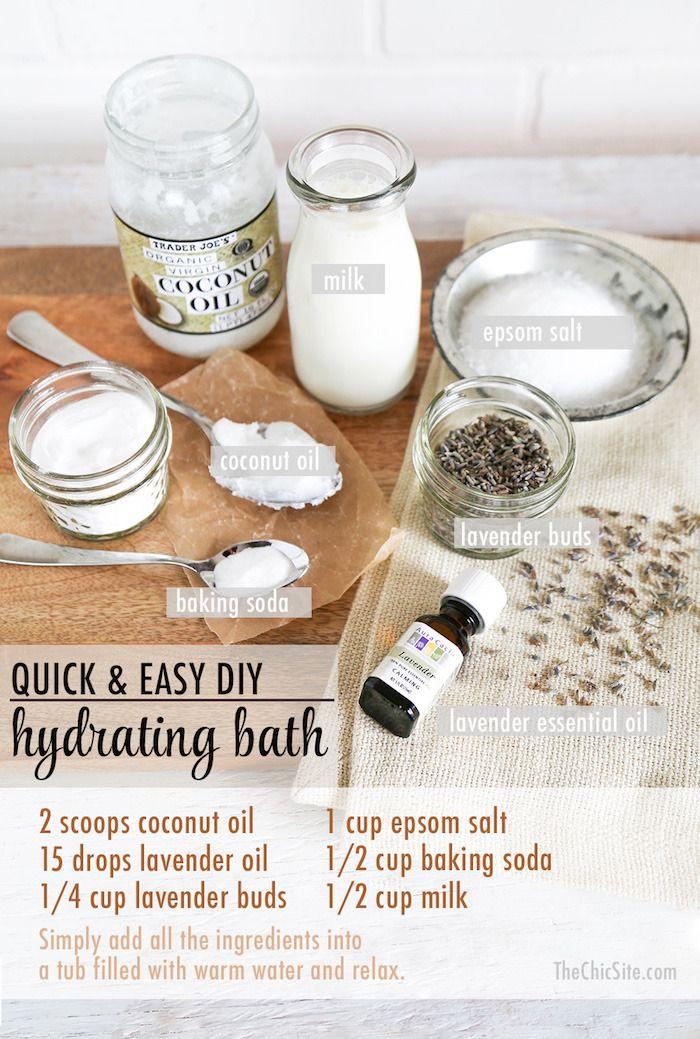 Upgrade Your Bath: Lavender & Milk