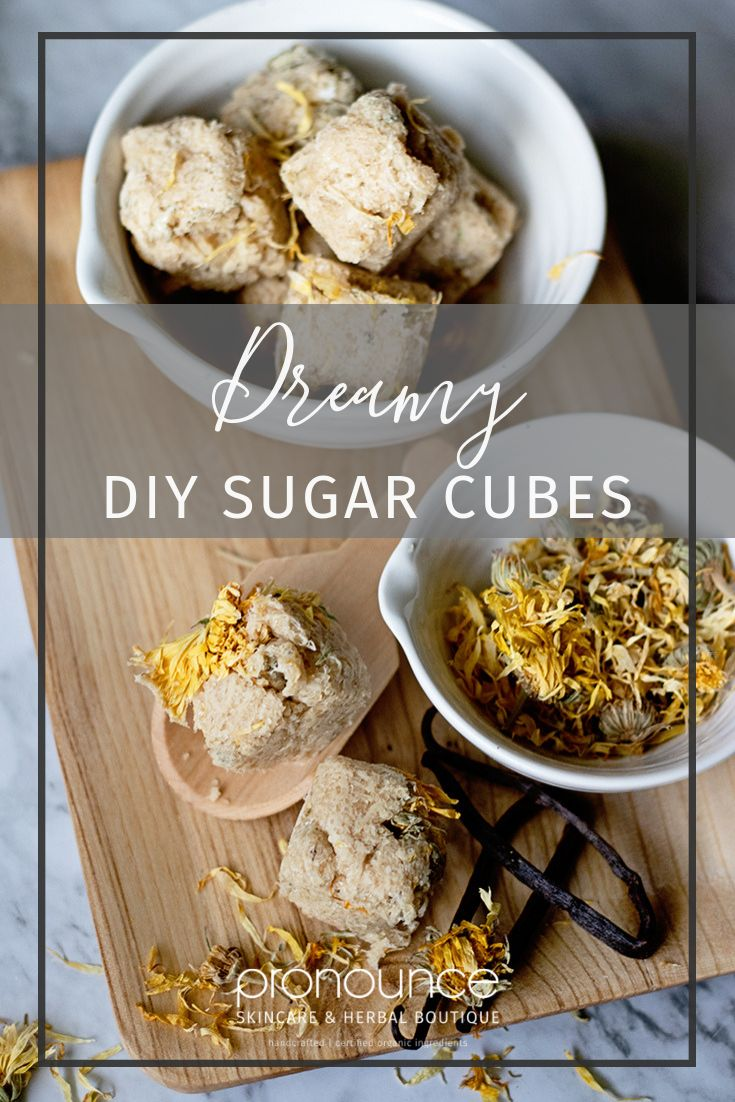Dreamy DIY Sugar Scrub Cubes Recipe