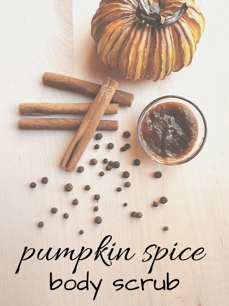 Exfoliate that glowing skin while indulging in the sweet smell of pumpkin spice ...