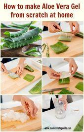 7 Amazing Homemade Beauty Products with Aloe Vera