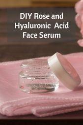 DIY Rose and Hyaluronic Acid Face Serum - Reclaiming Vitality