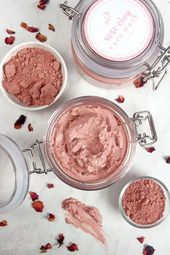 Rose Clay Face Mask DIY - Soap Queen