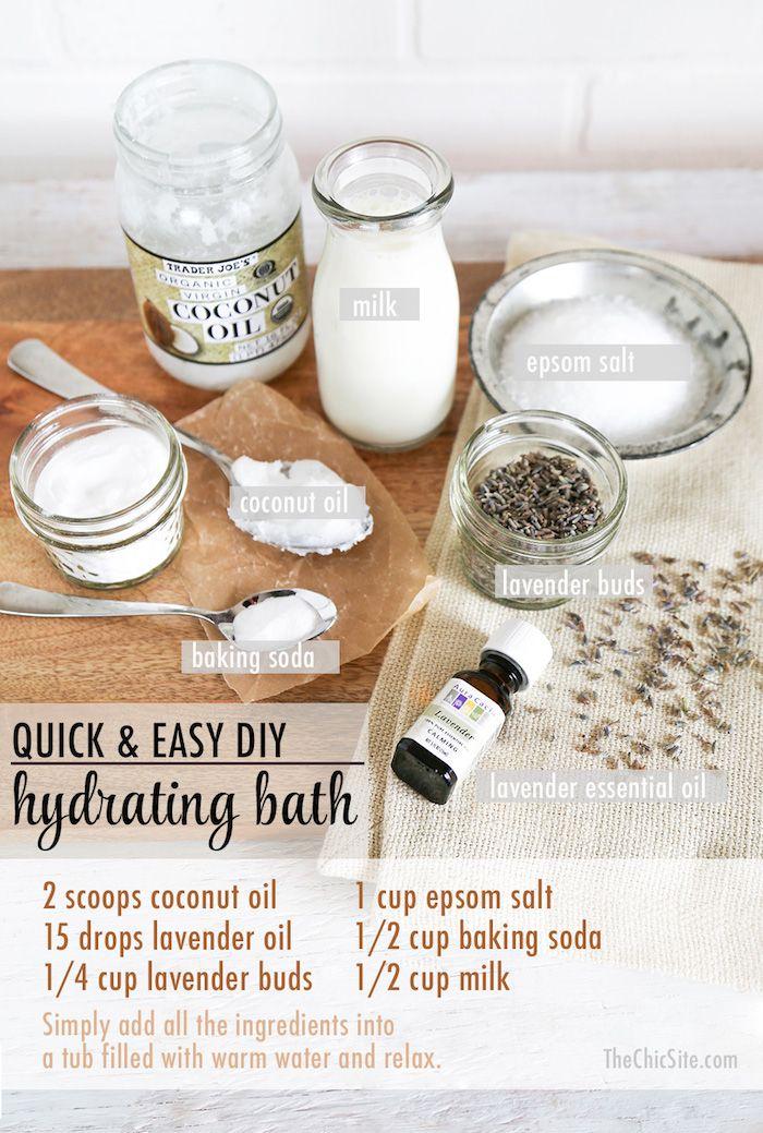 Upgrade Your Bath: Lavender & Milk - Rachel Hollis