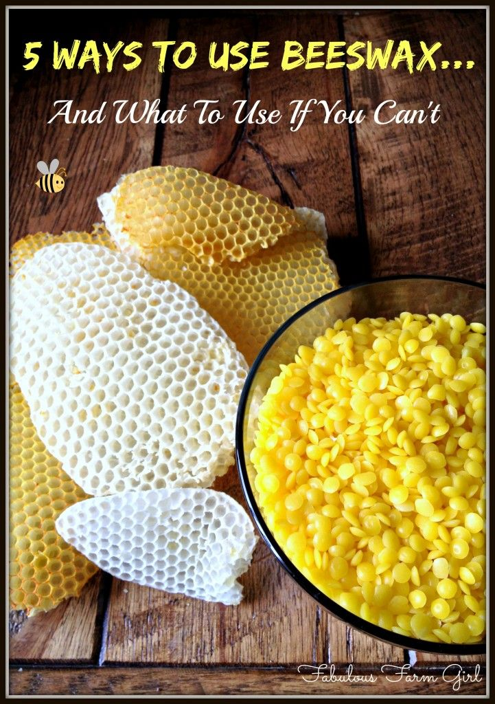 Beeswax: 5 Amazing Ways To Use It+4 Alternatives | Fabulous Farm Girl