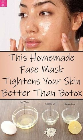 This Homemade Face Mask Tightens Your Skin Better Than Botox - She Made by Grace