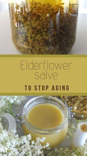 Anti-Aging Elderflower Salve to improve elasticity of your skin