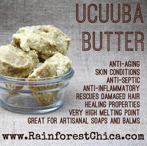 Cheat Sheet - Ucuuba Butter