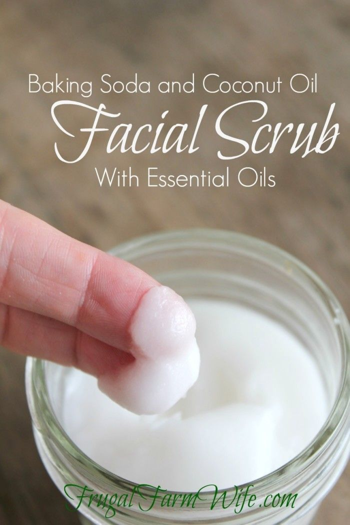 Baking Soda Face Wash | The Frugal Farm Wife
