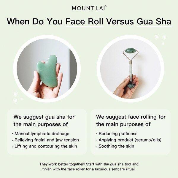 De-Puffing Jade Facial Roller