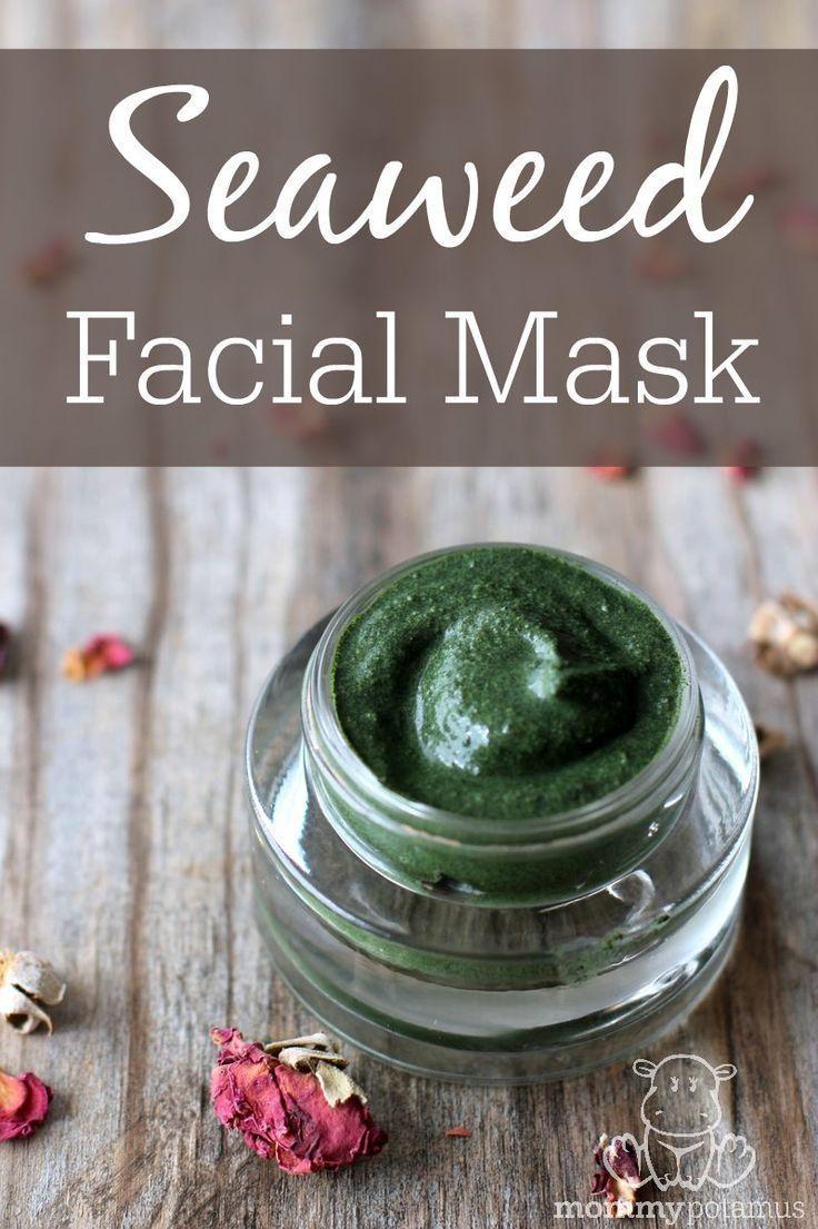 How To Make A Nourishing Seaweed Mask