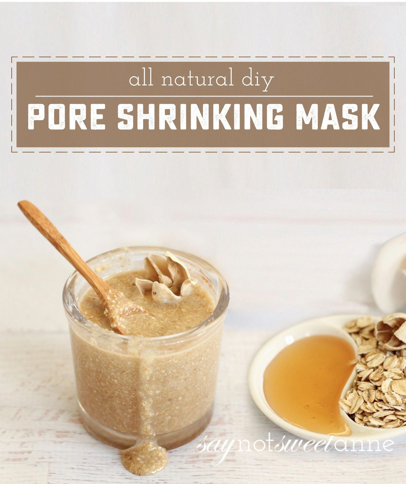 How To Make an Amazing Pore Shrinking Mask - Sweet Anne Designs