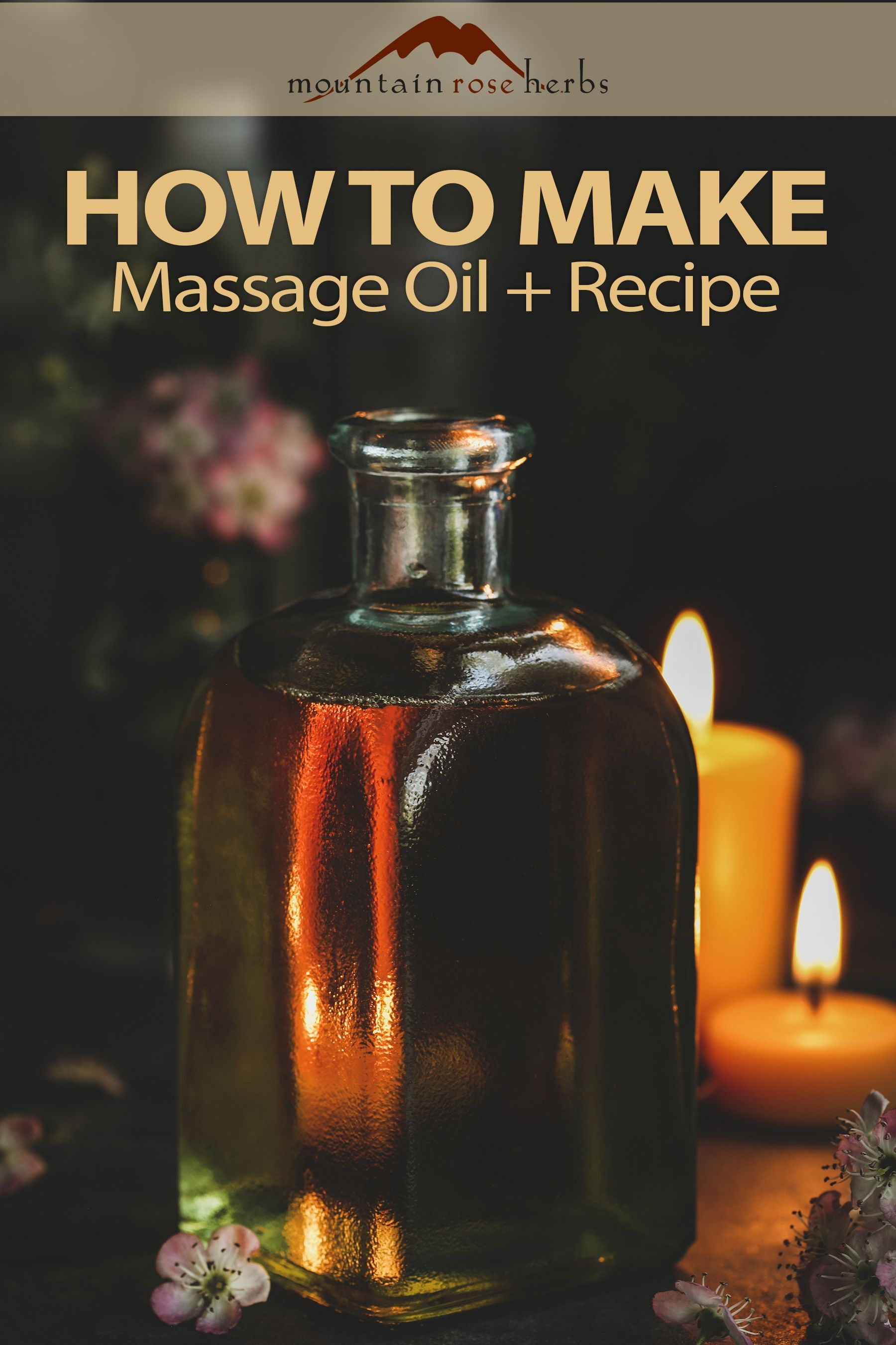 DIY Massage Oil Recipe with Essential Oils