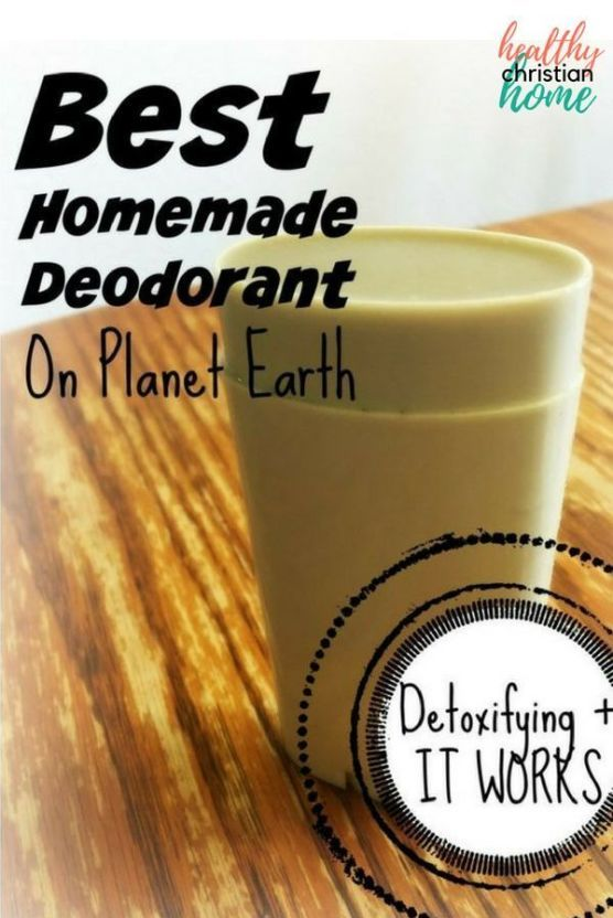 Homemade Deodorant That Works: Best on Planet Earth!